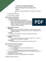 Basic Concepts of Human Development