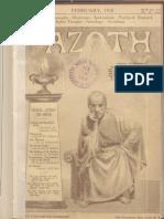 Azoth February 1918