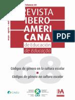 Códigos de Género en La Cultura Escolar