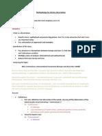 Methodology for History Dissertation
