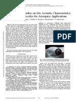 Jets Acoustic Characteristics of Chevron Nozzles