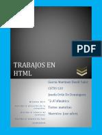 Paginas de HTML.