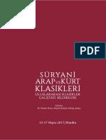 şarkiyat Sosyal Bilimler Kongresi 2017 14 17 Eylül