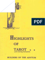 Case Paul Foster Highlights of Tarot