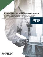 Whitepaper Maximizing the Effectiveness of IIoT1