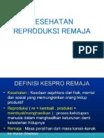 Kesh.reproduksi Remaja Bina Dokcil Min Wns 2015