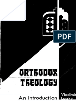 Orthodox Theology an Introduction - Vladimir Lossky