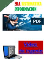 Búsqueda Sistemática de información 2016