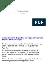 Elementos de Máquinas_aula 2-2_parafusos de Fixação Cont