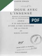 Gladys Swain - Dialogue Avec l'Insensé (1994, Gallimard)