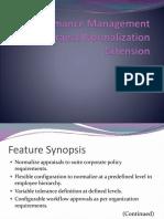 Pms Normalization
