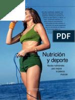 nutrición y deporte