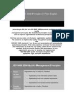 ISO 9000 2000 Principles in Plain English