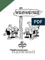 Pfadfinder Wegweiser