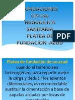 Platea de Fundación de Un Azud