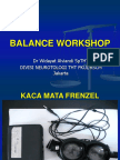 Balance Workshop