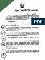 Resolucion de Secretaria General 295 2014 Minedu