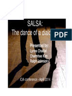 Dance of a Dialogue SALSA Presentation