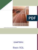 Chapter06 7ed Basic SQL