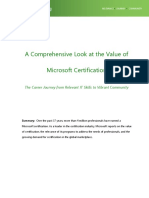 A Comprehensive Look Microsoft Certification.pdf
