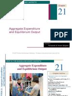 Aggregate Expenditure and Equilibrium Output
