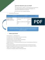 Obligaciones Laborales Para Una MyPE