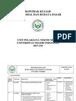 RPS ISBD 2017-2018 Semester Genap KKNI Maret