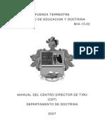 1. Manual Del Centro Director de Tiro