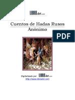 Anonimo - Cuentos de hadas Rusos.doc