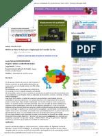 Modelo de Plano de Ação Para a Implantação Do Conselho Escolar _ Ideia Criativa - Gi Barbosa Educação Infantil