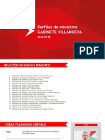 Gabinete Villanueva Perfiles