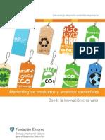 Marketing de Productos y Servicios Sostenibles