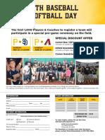 2018 Youth Baseball & Softball Day
