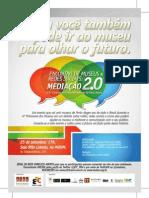 Flyer Museus e Redes Sociais
