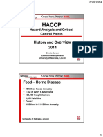 HACCP History and Overview 2014
