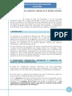 El Régimen Municipal Argentino Despues de La Reforma Del 94 Abalos