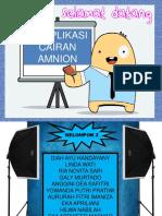 PPT Komplikasi Cairan Amnion