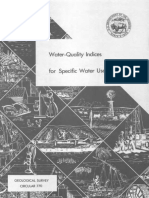 Water Quality Index for specific water uses