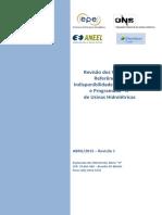 Revisão dos Valores de Referência de Indisponibilidade Forçada – TEIF e Programada – IP de Usinas Hidrelétricas – Revisão 1(PDF).pdf