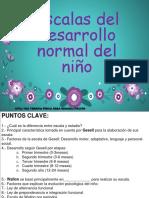 3 Clase Escalas Del Desarrollo Del Niño