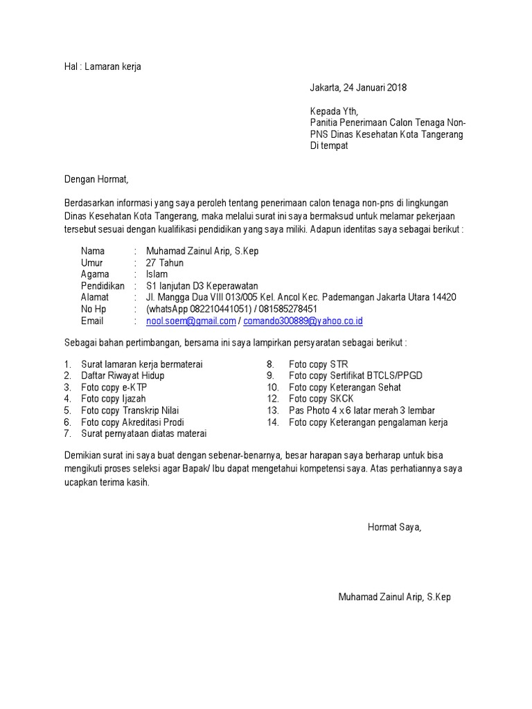 Dinkes Kota Tangerang