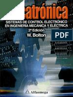 Mecatrónica - W. Bolton - 2da Edición