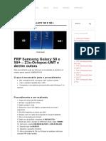 FRP Samsung Galaxy S8 e S8+ » Configurar Aparelho