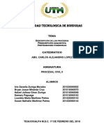 Tarea Procesal Civil No.1 Final