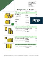 Compresores de Tornillo 3ra Edición 2013