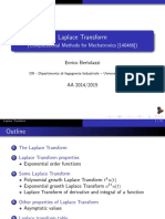 Laplace Transform (Slides)