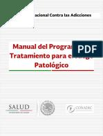 Manual de Tratamiento Para El Juego Patológico Final