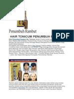 PENUMBUH RAMBUT