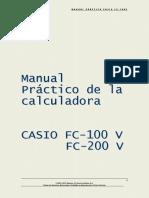 Manual Calculadora Casio Financiera