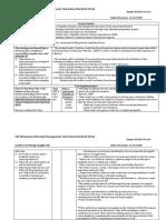 ct management routine lesson plan 2